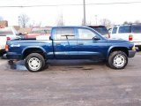 2004 Patriot Blue Pearl Dodge Dakota SXT Quad Cab 4x4 #24944892