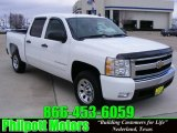 2008 Summit White Chevrolet Silverado 1500 LT Crew Cab #24945108