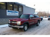 2004 Sport Red Metallic Chevrolet Silverado 1500 Z71 Regular Cab 4x4 #24945080