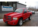 2002 Flame Red Dodge Ram 1500 Sport Regular Cab 4x4 #24945083