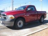 2010 Inferno Red Crystal Pearl Dodge Ram 1500 ST Regular Cab #24945096
