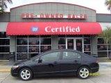 2007 Nighthawk Black Pearl Honda Civic EX Sedan #24944953