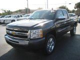 2010 Taupe Gray Metallic Chevrolet Silverado 1500 LT Extended Cab #24944968
