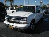 2006 Summit White Chevrolet Silverado 1500 LT Crew Cab #24944975