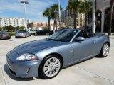 2010 Frost Blue Metallic Jaguar XK XK Convertible #24944982