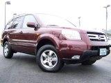 2007 Dark Cherry Pearl Honda Pilot EX #24944877