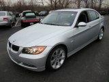 2008 Titanium Silver Metallic BMW 3 Series 335i Sedan #24944850