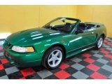 1999 Electric Green Metallic Ford Mustang SVT Cobra Convertible #24945255