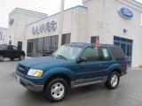 2001 Island Blue Metallic Ford Explorer Sport 4x4 #24945072