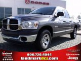 2008 Mineral Gray Metallic Dodge Ram 1500 SXT Quad Cab #24945031