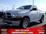 2010 Stone White Dodge Ram 1500 ST Regular Cab #24999249