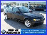 2004 Jet Black BMW 3 Series 325i Sedan #24999351