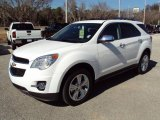 2010 Summit White Chevrolet Equinox LTZ #24999563