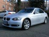2007 Titanium Silver Metallic BMW 3 Series 328xi Coupe #24999484