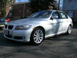 2009 Titanium Silver Metallic BMW 3 Series 328i Sedan #24999485