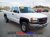 2006 GMC Sierra 2500HD Work Truck Extended Cab 4x4 Data, Info and Specs