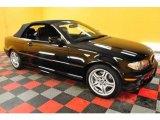 2006 Jet Black BMW 3 Series 330i Convertible #24999423