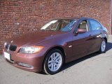 2007 Barrique Red Metallic BMW 3 Series 328xi Sedan #24999145