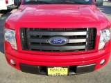 2010 Vermillion Red Ford F150 STX Regular Cab #24999147