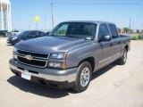 2007 Graystone Metallic Chevrolet Silverado 1500 Classic LS Crew Cab #2494918