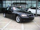 2008 Jet Black BMW 3 Series 328xi Sedan #24999284