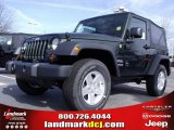 2010 Natural Green Pearl Jeep Wrangler Sport 4x4 #24999236
