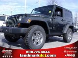 2010 Natural Green Pearl Jeep Wrangler Rubicon 4x4 #24999241
