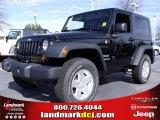 2010 Black Jeep Wrangler Sport 4x4 #24999232