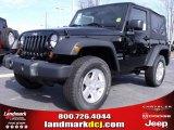 2010 Black Jeep Wrangler Sport 4x4 #24999235