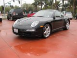 2007 Black Porsche 911 Carrera 4 Coupe #24999062