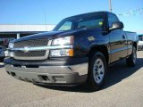 2005 Dark Gray Metallic Chevrolet Silverado 1500 Regular Cab #24999059
