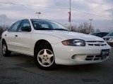 2003 Olympic White Chevrolet Cavalier Sedan #24999009