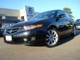 2008 Nighthawk Black Pearl Acura TSX Sedan #24999024