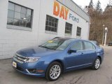 2010 Sport Blue Metallic Ford Fusion SEL V6 #25062453