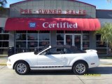2005 Performance White Ford Mustang V6 Premium Convertible #25062431