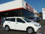 2007 Super White Toyota Matrix  #25062687