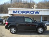 2009 Black Pearl Slate Metallic Ford Escape XLT V6 4WD #25062575