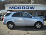 2005 Ice Blue Metallic Kia Sorento LX 4WD #25062578