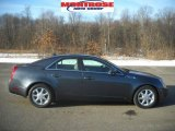 2009 Thunder Gray ChromaFlair Cadillac CTS 4 AWD Sedan #25063176