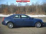 2009 Blue Diamond Tri-Coat Cadillac CTS 4 AWD Sedan #25063178