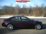 2009 Black Cherry Cadillac CTS 4 AWD Sedan #25063179