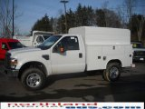 2010 Oxford White Ford F350 Super Duty XL Regular Cab 4x4 Chassis #25062362