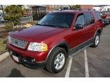 2003 Redfire Metallic Ford Explorer XLT 4x4 #25062805