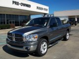 2008 Mineral Gray Metallic Dodge Ram 1500 ST Quad Cab #25062485