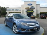 2010 Sport Blue Metallic Ford Fusion Sport #25062504