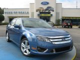 2010 Sport Blue Metallic Ford Fusion Sport #25062506