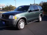 2003 Aspen Green Metallic Ford Explorer XLS 4x4 #25062864
