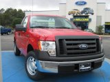 2010 Vermillion Red Ford F150 XL Regular Cab #25062516
