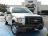 2010 Ingot Silver Metallic Ford F150 XL Regular Cab #25062525