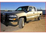 2000 Light Pewter Metallic Chevrolet Silverado 1500 Z71 Extended Cab 4x4 #25062868